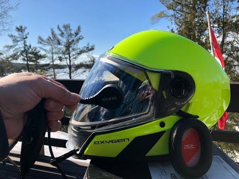 BRP Oxygen Helmet Tested