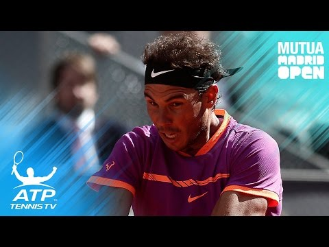 Nadal, Djokovic, Nishikori reach third round | Mutua Madrid Open 2017 Highlights Day 4