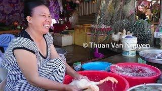 Vietnam    Village market in Chau Thanh    Kien Giang Province - Part 1