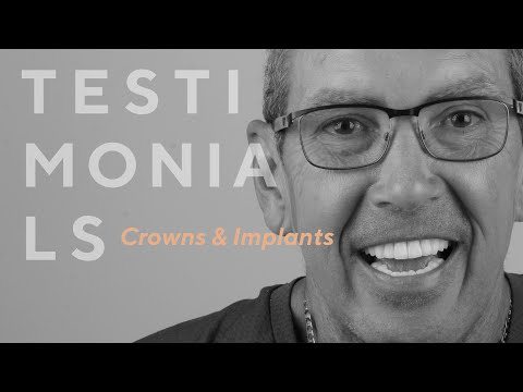 Dentist in Turkey: Here you can see a perfect result of Crowns & Implants Treatment