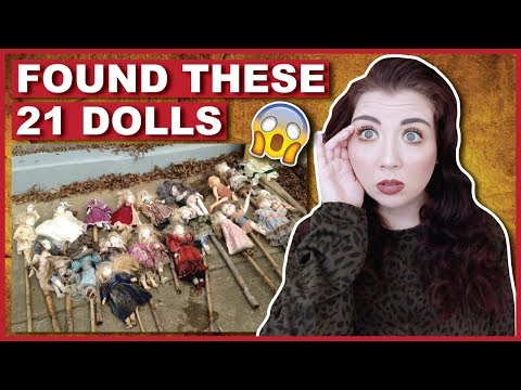 These 21 Porcelain Dolls Were Found NEAR YOU