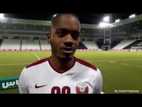 Interview with Benschop after Match CURACAO 2 - QATAR 1 date: 10 10 2017