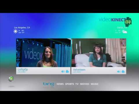 E3 2010 XBOX 360 Kinect VideoKinect - Video Chat