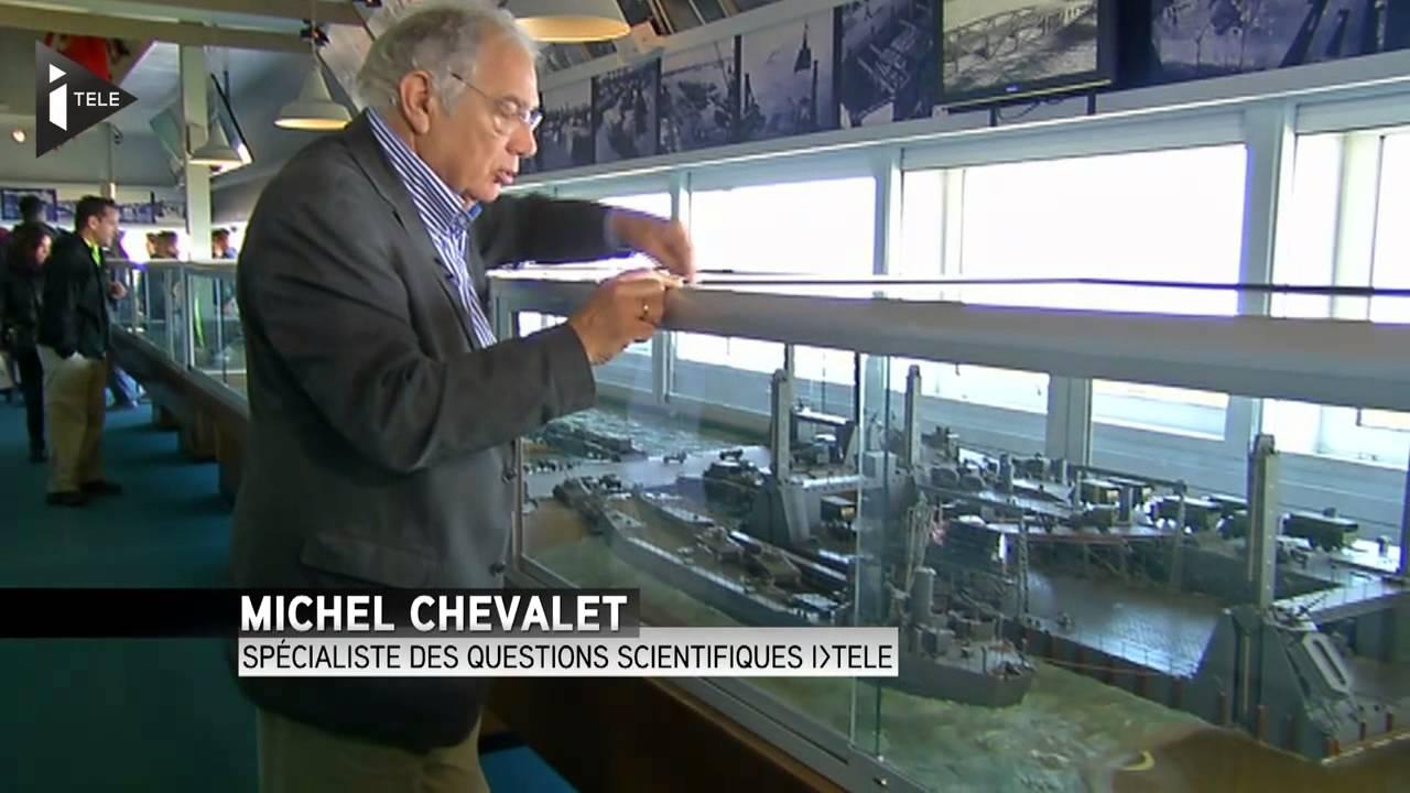 Le port artificiel d 39 arromanches un exploit technologique youtube - Port artificiel d arromanches construction ...