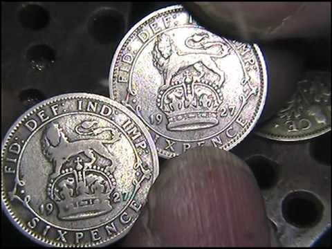 British silver coins fakes,here's the proof,and how to spot them
