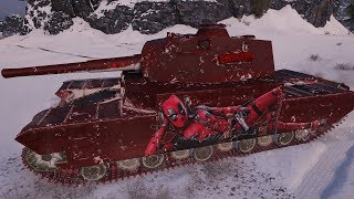 WoT Type 5 Heavy (skin) 11250 DMG 1606 EXP - Arctic Region