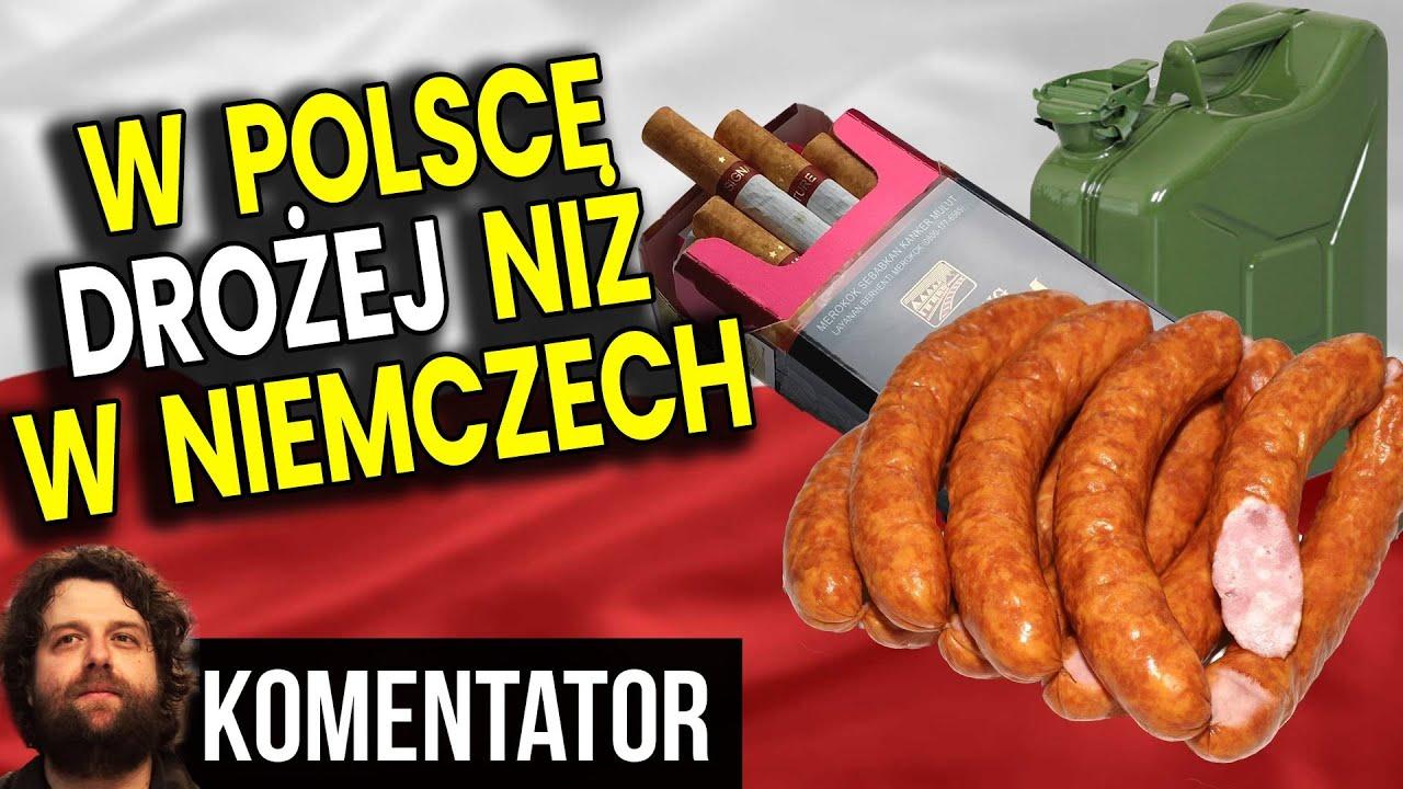 Ceny w Sklepach w Polsce Wyższe Niż w Niemczech - Dlaczego? - Analiza Komentator Pieniądze Film PL