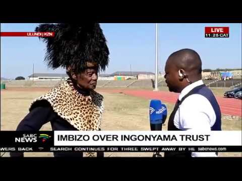 Mangosuthu Buthelezi on the Ingonyama Trust Imbizo