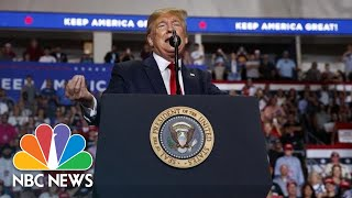 President Donald Trump Defends Brett Kavanaugh During Campaign Rally | NBC News