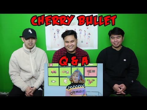 CHERRY BULLET - Q&A MV REACTION (FUNNY FANBOYS)