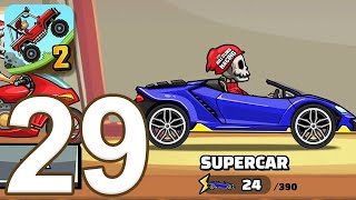 Hill Climb Racing 2 - Gameplay Walkthrough Part 29 - Supercar (iOS, Android)