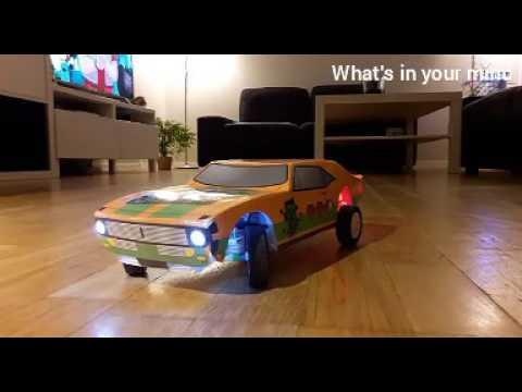 How to made Chebrolat camaro(rc)car.