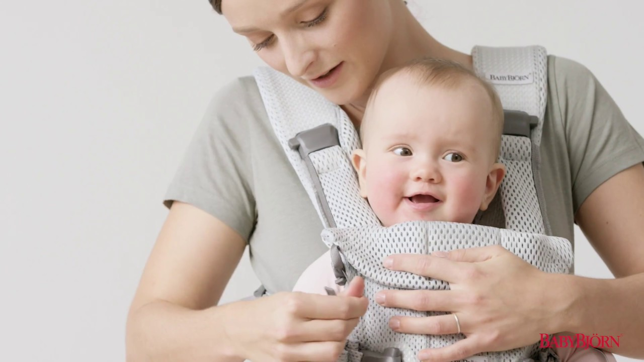 Babybjörn How To Use The Facing Out Position On Baby Carrier One