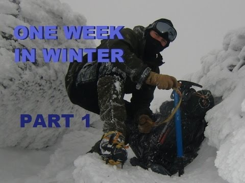 One week in Winter...Part 1