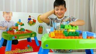 огляд іграшок з Максом - розпакування конструктора