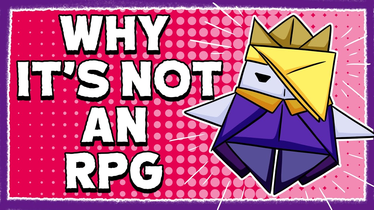 Why Paper Mario: The Origami King is Not an RPG