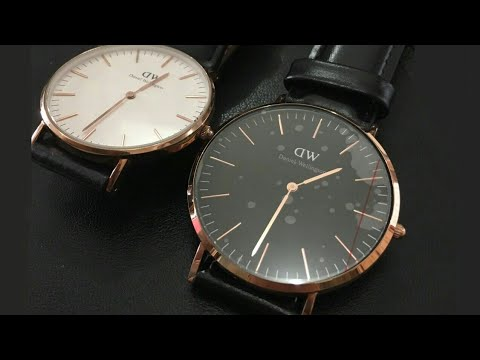 5a5bd31d89625 UNBOXING DANIEL WELLINGTON CLASSIC BLACK SHEFFIELD 40mm - YouTube
