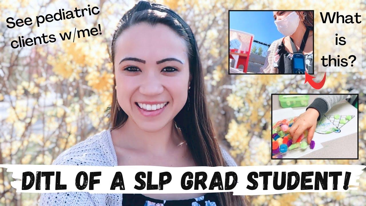 Download Day In The Life SLP Grad Student!! | Graduate School | Pediatric Clients | Emilyy Elizabeth Davio