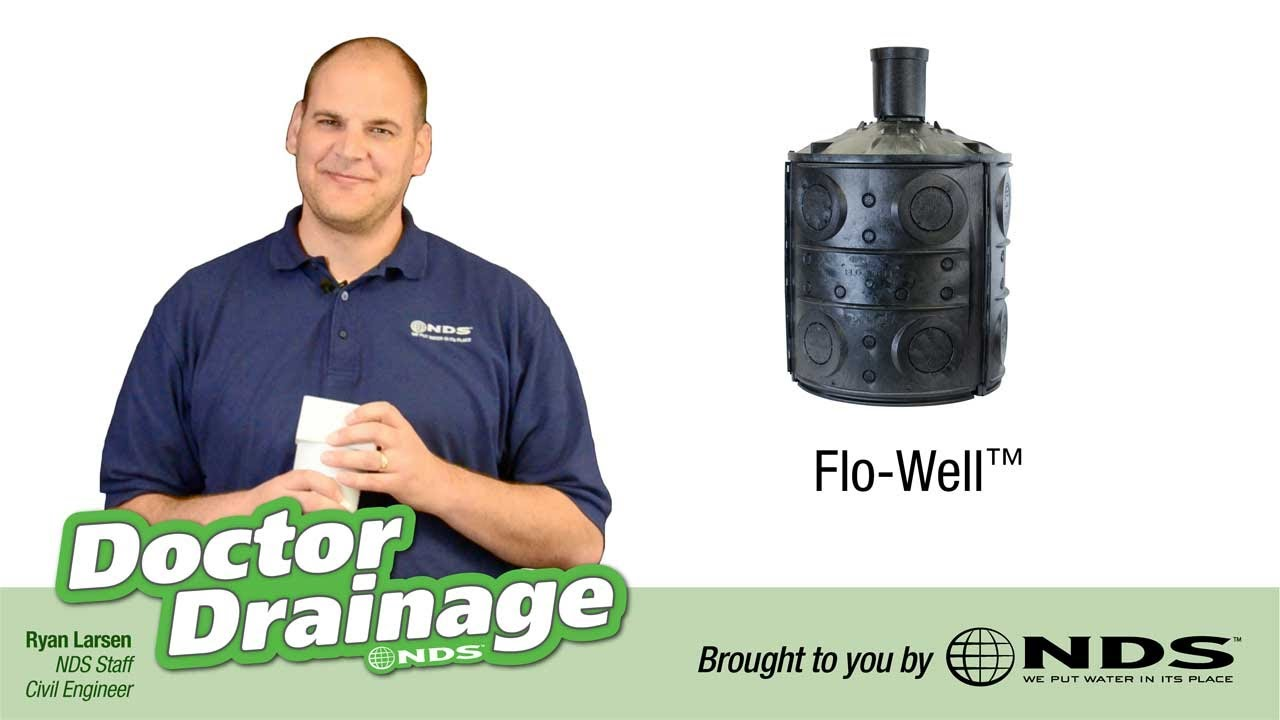 How To Install Nds Flowell Dry Well Drainage System T