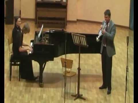 Смирнова, Татьяна - Три концертные пьесы для трубы и фортепиано