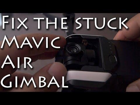 FIX for Mavic Air GIMBAL STUCK DOWNWARDS