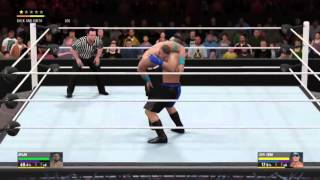My first commentary (wwe 2k16)