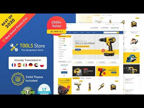 Mega Tools Store Template