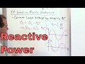 Learn Reactive Power in AC Circuits - Reactive Power Inductive Load and Power Factor Calculation