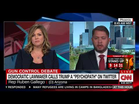 Gallego: Calling Trump a 'Psychopath' Is 'Very Important' and 'Constructive'