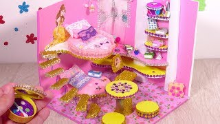 DIY Miniature Dollhouse Princess Room ~ Belle (Beauty and the Beast) Room Shoes