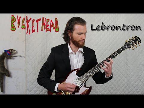 BUCKETHEAD - Lebrontron Cover (HD)
