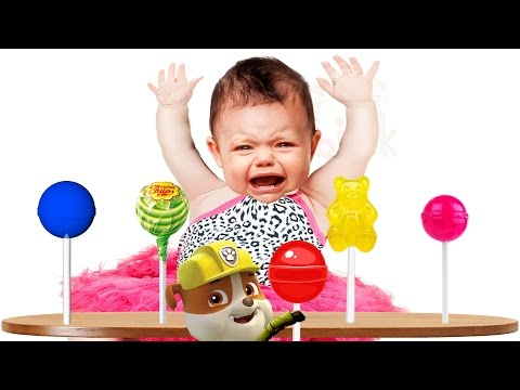 Thumbnail: Bad Baby Crying Lollipop Collection Paw Patrol Finger Family Colors Learn