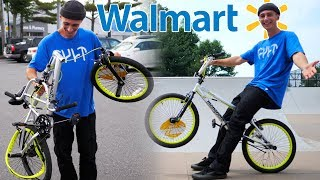WE BOUGHT AN $80 WALMART BMX BIKE DESTROYED IT AND THEN RETURNED IT! (PART 2)