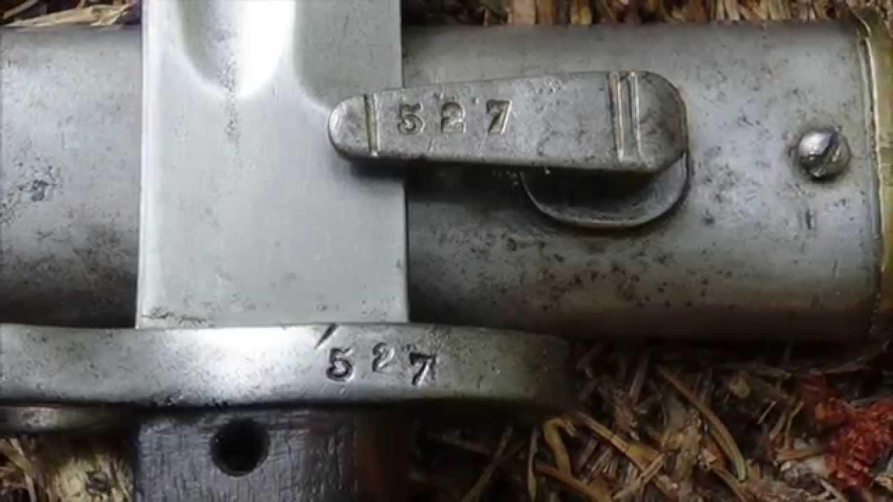 K98 bajonett