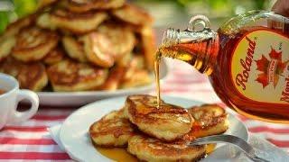 Дрожжевые оладушки с яблоками(Что может быть лучше для завтрака выходного дня, чем лёгкие, ароматные, горячие и очень пышные оладьи, полит..., 2016-06-03T05:00:01.000Z)