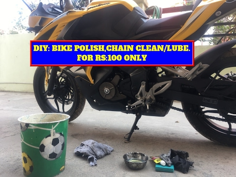 how to keep bike chain clean