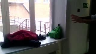 Прикол,летающая сумка ..!!!!!!!