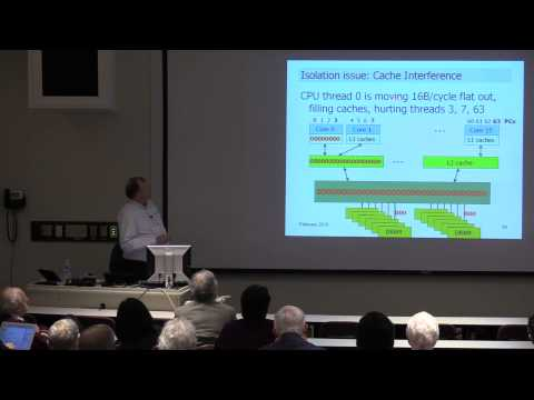 "Dick Sites - ""Data Center Computers: Modern Challenges in CPU Design"""