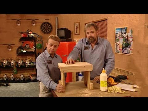 How to Make a Wooden Step Stool