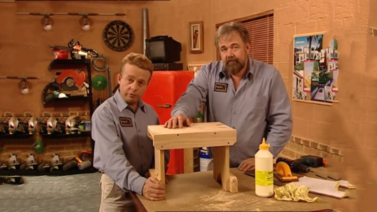 How To Make A Wooden Stool Youtube