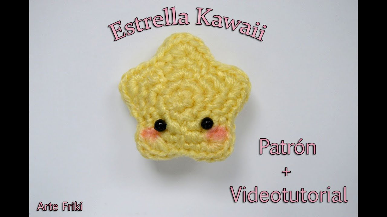 Amigurumis Kawaii Patrones Gratis : Estrella amigurumi tutorial youtube