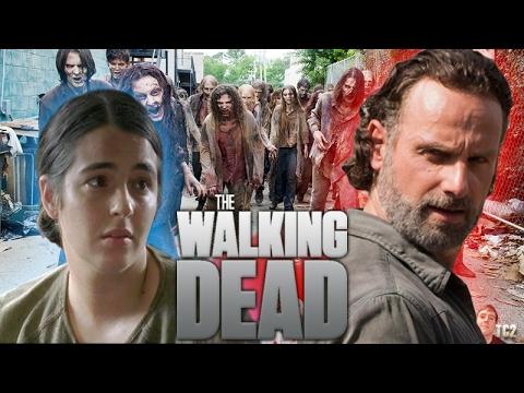 The Walking Dead Season 7 Mid-Season Premiere - Big Walker Scene & Rick Meets the Oceanside?