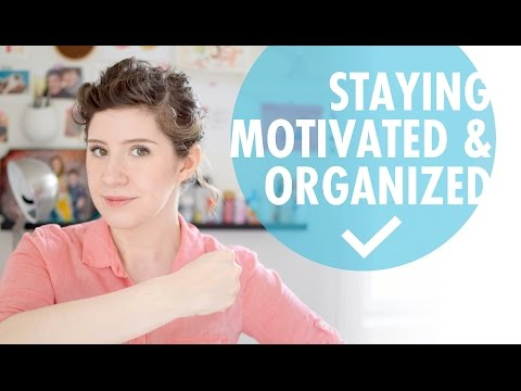 How I Stay Motivated & Manage My Time as a Freelance Illustrator