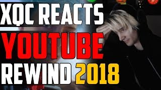 xQc REACTS TO YOUTUBE REWIND 2018
