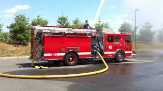 Engine 40 Deck Gun Ops