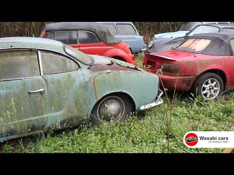 Junkyard: VW Karmann Ghia, Beetles, Type 3 Wagons, and MORE!