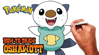 How to Draw Oshawott | Pokemon