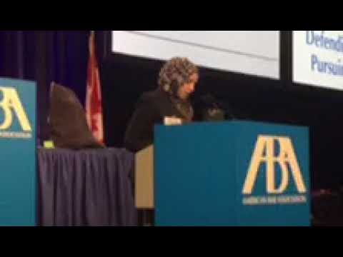 Video: CAIR Board Chair Roula Allouch Offers Invocation at ABA Meeting in Vancouver