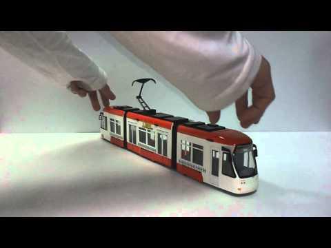 """Dickie Tramwaj City Liner od """"ZABAWLANDIA"""""""