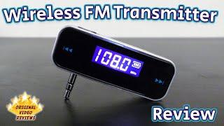 Item review - Wireless FM Transmitter